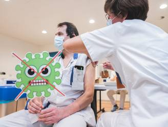 Opluchting in AZ Jan Palfijn: eindelijk ook daar de eerste vaccins toegediend