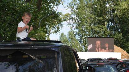Eerste drive-in cinema voor Vlaamse feestdag is succes