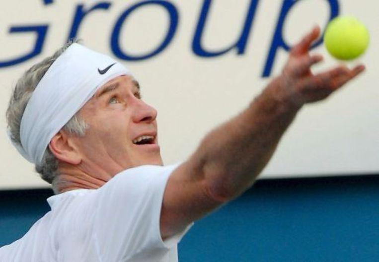 John McEnroe vindt Roger Federer de beste tennisser aller tijden. ANP Beeld