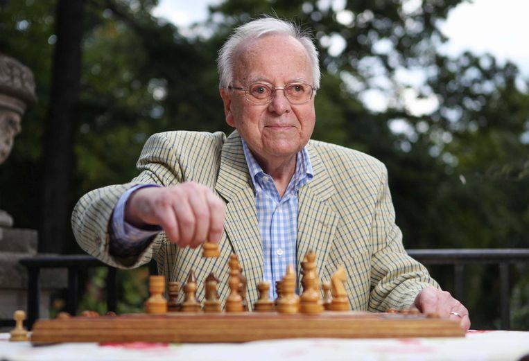 Wolfgang Uhlmann schaakte tot op hoge leeftijd. Beeld BSR Agency