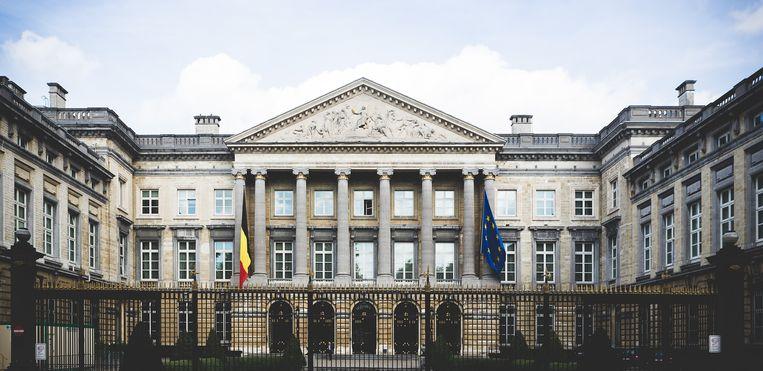 Federaal parlement in Brussel.