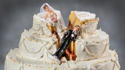 Na de bruidstaart wint nu ook de echtscheidingstaart aan populariteit