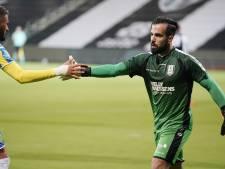 RKC-doelman Lamprou: 'Penalty stoppen en ook nog winnen is het mooiste wat er is'