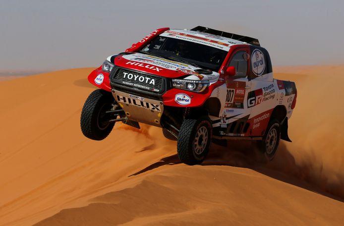 De Toyota van Bernard ten Brinke.