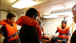 Reddingsschip Alan Kurdi vraagt Italië, Frankrijk, Spanje en Portugal om hulp