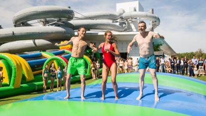Eén klagende buur en zwembad mag glijbanen afbreken