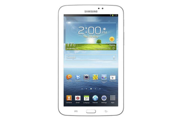 Ook Samsung heeft, met de 7-inchversie van zijn Galaxy Tab 3, een tablet met een bereikbare prijs (199 euro) op de markt.