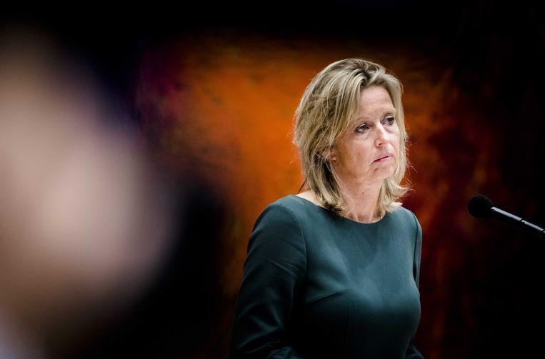 Minister Kajsa Ollongren van Binnenlandse Zaken en Koninkrijksrelaties. Beeld ANP