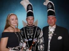 Prins Michel en Princes Carmen regeren bij de Daaltrappers in Enschede