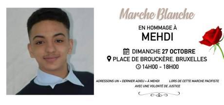 Une marche blanche dimanche pour Mehdi, renversé par une voiture de police