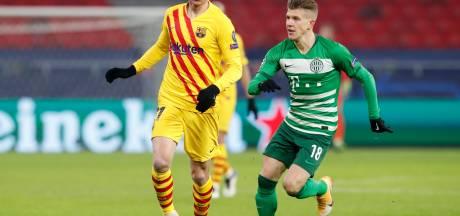 Barcelona op halve kracht langs Ferencváros en blijft foutloos in CL