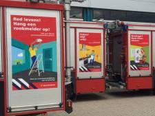 Brand en rook: waarschuwingen op brandweerauto's en Facebook moeten mensen wakker schudden