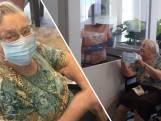 97-jarige Jentje heeft oplossing voor snijdende mondkapjes