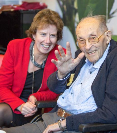 100-jarige Zeeuws-Vlaming Pieter Beun woont nu met veel plezier in Goes