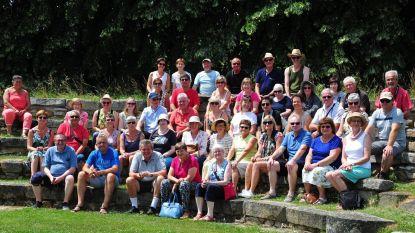 Tuinliefhebbers op tuinreis naar Champagnestreek
