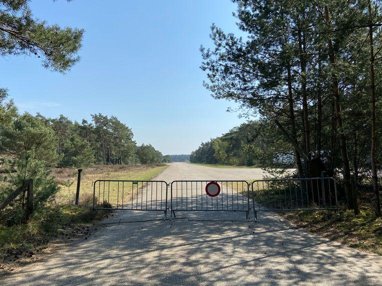Het domein 'Heihuyzen' grenst aan het voormalig NATO-vliegveld in Oostmalle.