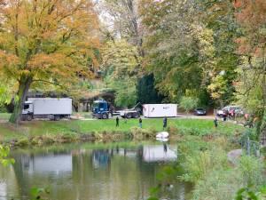 Enfants sauvés à Namur: le corps retrouvé dans l'étang est bien celui de la mère