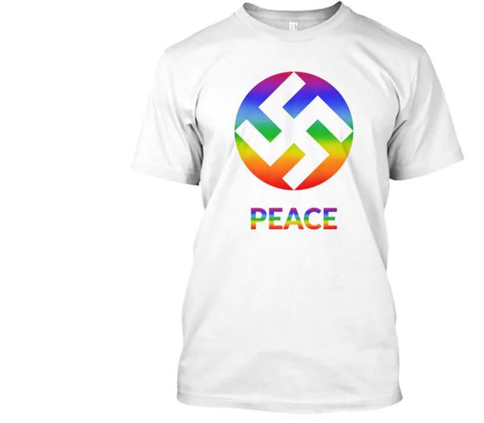 Dit T-shirt is inmiddels niet meer online te koop.