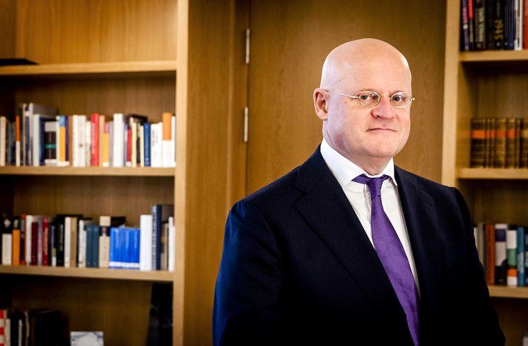 Portret van minister Ferdinand Grapperhaus (CDA) van Justitie en Veiligheid. Beeld ANP