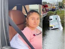 """Sanda (32) was passagier op bus die in Brugse vaart reed: """"En zeggen dat ik schrik heb van water"""""""
