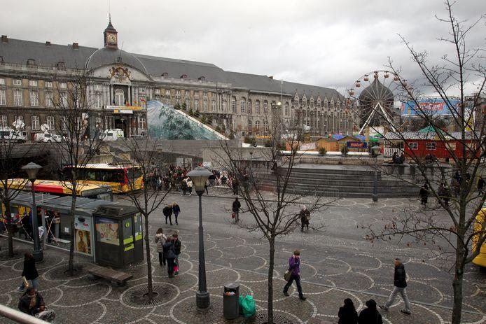 La Place Saint-Lambert à Liège.