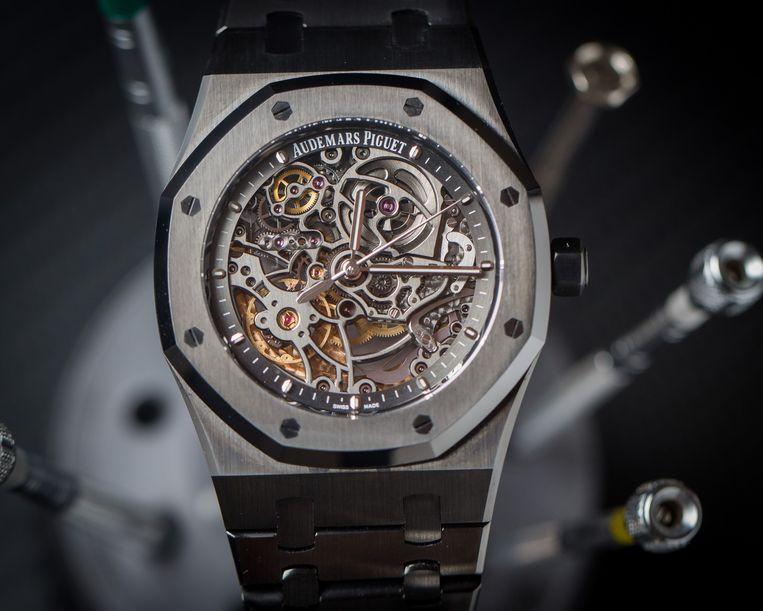 Horloge Audemars Piguet Skeleton. Beeld RV