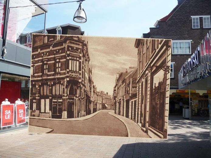 Heuvelstraat. Foto Rob van Amsterdam, inzet Regionaal Archief Tilburg