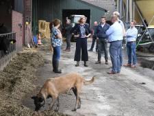 Mona Keijzer op jacht naar stemmen bij Brabantse boeren