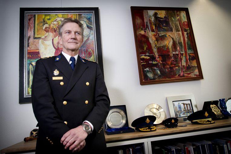 Korpschef Gerard Bouman. Beeld anp