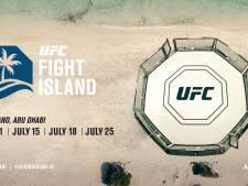 UFC op idyllisch eiland, maar géén gevechten op het strand