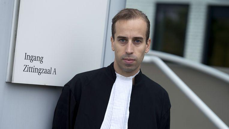 Advocaat Ivo van de Bergh is de raadsman van meerdere verdachten in de Valkenburgse zedenzaak. Beeld anp