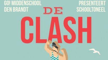 Leerlingen Den Brandt brengen toneelstuk 'De clash'