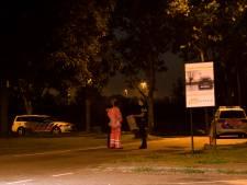 Zoekactie politie rond tankstation A12