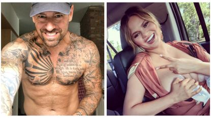 SHOWBITS: Pieter Loridon showt zijn tattoos en Chrissy Teigen kolft af in de auto