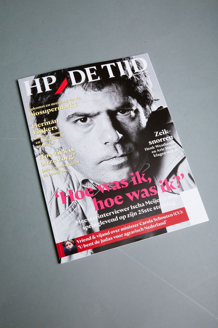 De cover van HP/De Tijd. Beeld Studio V