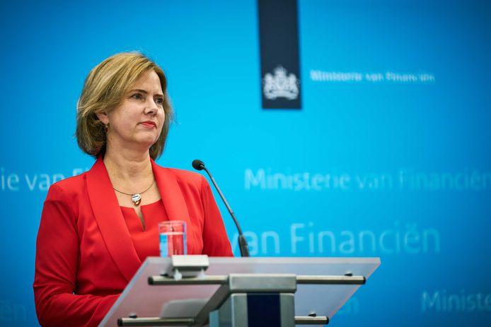 Minister Cora van Nieuwenhuizen van Infrastructuur en Waterstaat.