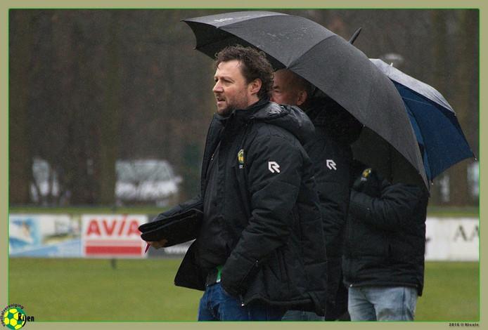 Max Raeven, trainer van Rijen.