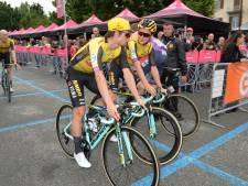 Roglic beperkt schade met fiets van Tolhoek