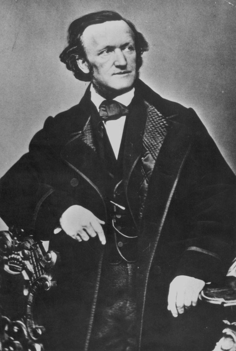 Richard Wagner in circa 1850.  Beeld Getty