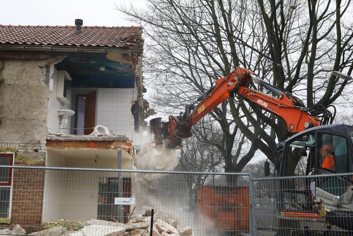 Een paar dagen voor kerst zijn de eerste huizen in de Kolpingwijk in Nijmegen gesloopt.
