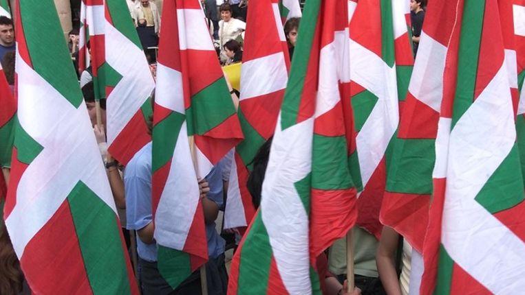 De Baskische vlag Beeld anp