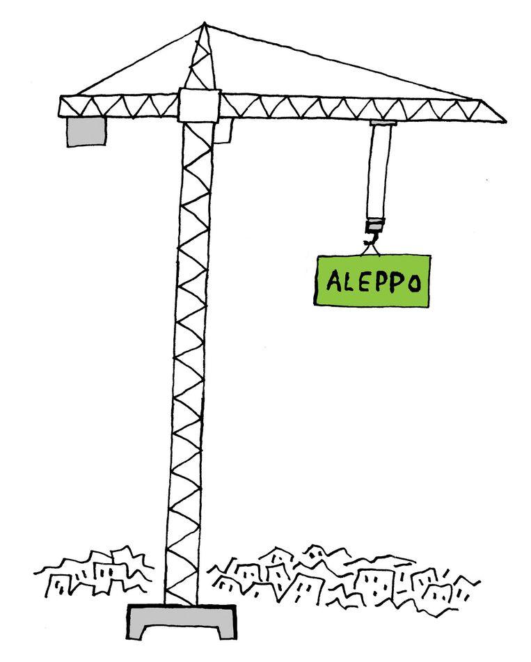 De eerste Syrische Nederlanders durven weer terug te keren naar Damascus en Aleppo. Beeld Bas van der Schot