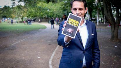 Vlaams Belang promoot boekje 'Francken faalt' in Maximiliaanpark