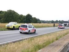 N35 bij Wierden korte tijd dicht na ongeluk