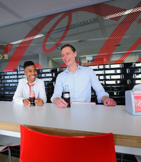 Baas Coca-Cola: 'Wees positief en vóór dingen in plaats van tegen'