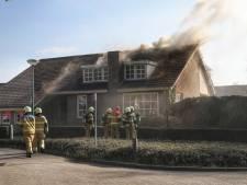 Huis van binnen verwoest door brand in Nistelrode: 'Met mijn tuinslang blussen ging helaas niet snel genoeg'