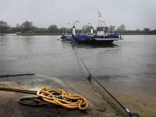 Alle pontjes in de Maas tussen Brabant en Limburg varen weer