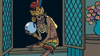 Ruzie tussen Pairi Daiza en Museum Kunst & Geschiedenis over mummie uit Kuifje-album