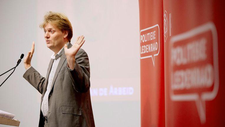 Jan Hamming is de nieuwe burgemeester van Zaanstad. Beeld anp