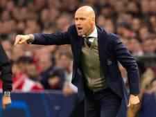 Ten Hag trots op Ajax: 'Deze overwinning zelf afgedwongen'